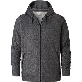 Craghoppers NosiLife Tilpa Hooded Jacket Men Black Pepper Marl